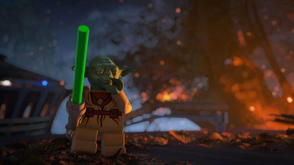 LEGO Yoda spielen in Star Wars Battlefront 2