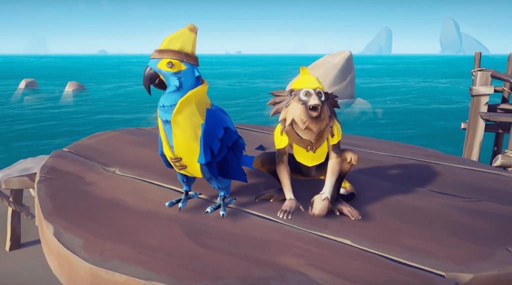 Sea of Thieves Hearts of Fire Update mit Bananen kometika und neuen Story Missionen